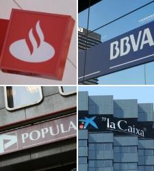 Santander-BBVA-CaixaBank-y-Banco-Popular